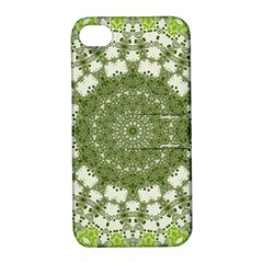 Mandala Center Strength Motivation Apple Iphone 4/4s Hardshell Case With Stand
