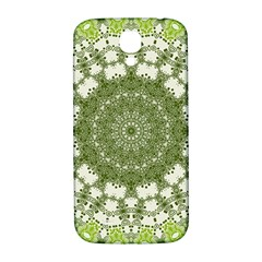 Mandala Center Strength Motivation Samsung Galaxy S4 I9500/i9505  Hardshell Back Case