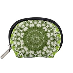 Mandala Center Strength Motivation Accessory Pouches (small)
