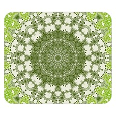 Mandala Center Strength Motivation Double Sided Flano Blanket (small)