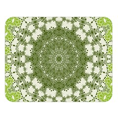 Mandala Center Strength Motivation Double Sided Flano Blanket (large)