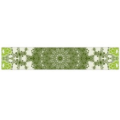 Mandala Center Strength Motivation Flano Scarf (large)