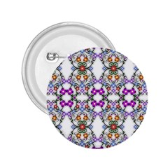 Floral Ornament Baby Girl Design 2 25  Buttons