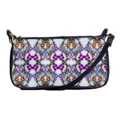 Floral Ornament Baby Girl Design Shoulder Clutch Bags