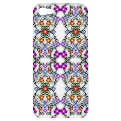 Floral Ornament Baby Girl Design Apple Iphone 5 Hardshell Case