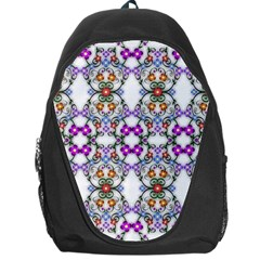 Floral Ornament Baby Girl Design Backpack Bag