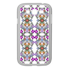 Floral Ornament Baby Girl Design Samsung Galaxy Grand Duos I9082 Case (white)