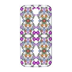 Floral Ornament Baby Girl Design Samsung Galaxy S4 I9500/i9505  Hardshell Back Case