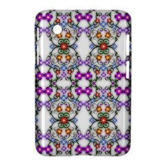 Floral Ornament Baby Girl Design Samsung Galaxy Tab 2 (7 ) P3100 Hardshell Case