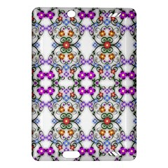 Floral Ornament Baby Girl Design Amazon Kindle Fire Hd (2013) Hardshell Case