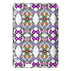 Floral Ornament Baby Girl Design Kindle Fire Hdx Hardshell Case