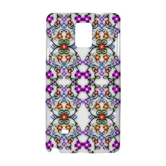 Floral Ornament Baby Girl Design Samsung Galaxy Note 4 Hardshell Case