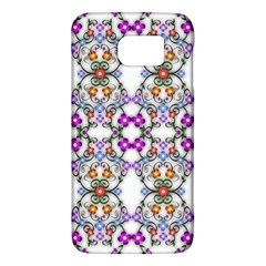 Floral Ornament Baby Girl Design Galaxy S6