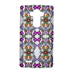Floral Ornament Baby Girl Design Lg G4 Hardshell Case