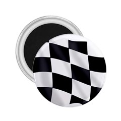 Flag Chess Corse Race Auto Road 2 25  Magnets