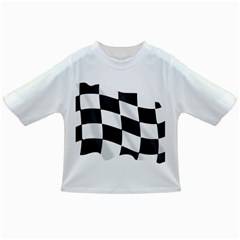 Flag Chess Corse Race Auto Road Infant/Toddler T-Shirts