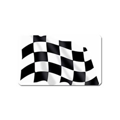 Flag Chess Corse Race Auto Road Magnet (name Card)