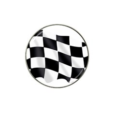 Flag Chess Corse Race Auto Road Hat Clip Ball Marker (4 Pack)