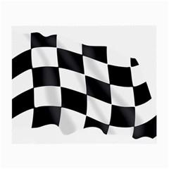 Flag Chess Corse Race Auto Road Small Glasses Cloth