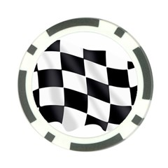 Flag Chess Corse Race Auto Road Poker Chip Card Guard