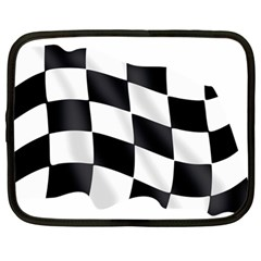 Flag Chess Corse Race Auto Road Netbook Case (large)