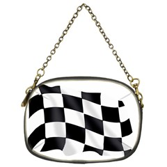 Flag Chess Corse Race Auto Road Chain Purses (one Side)