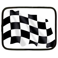 Flag Chess Corse Race Auto Road Netbook Case (XL)