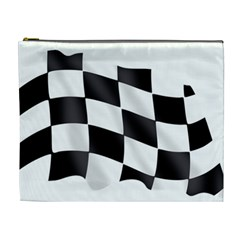 Flag Chess Corse Race Auto Road Cosmetic Bag (xl)