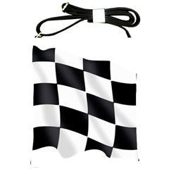 Flag Chess Corse Race Auto Road Shoulder Sling Bags