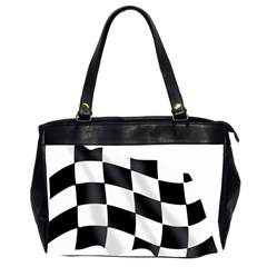 Flag Chess Corse Race Auto Road Office Handbags (2 Sides)