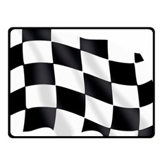 Flag Chess Corse Race Auto Road Fleece Blanket (small)