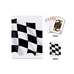 Flag Chess Corse Race Auto Road Playing Cards (mini)