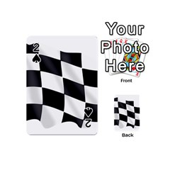 Flag Chess Corse Race Auto Road Playing Cards 54 (mini)