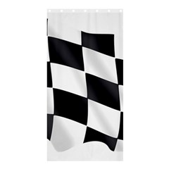 Flag Chess Corse Race Auto Road Shower Curtain 36  X 72  (stall)