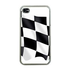 Flag Chess Corse Race Auto Road Apple Iphone 4 Case (clear)