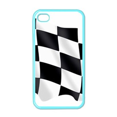 Flag Chess Corse Race Auto Road Apple Iphone 4 Case (color)
