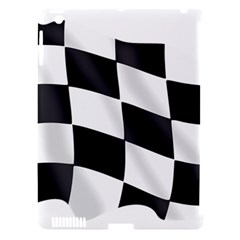 Flag Chess Corse Race Auto Road Apple Ipad 3/4 Hardshell Case (compatible With Smart Cover)