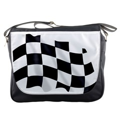 Flag Chess Corse Race Auto Road Messenger Bags
