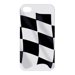 Flag Chess Corse Race Auto Road Apple Iphone 4/4s Premium Hardshell Case