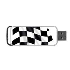 Flag Chess Corse Race Auto Road Portable Usb Flash (two Sides)