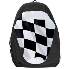 Flag Chess Corse Race Auto Road Backpack Bag