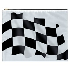 Flag Chess Corse Race Auto Road Cosmetic Bag (xxxl)