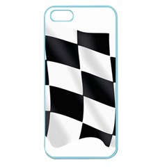Flag Chess Corse Race Auto Road Apple Seamless Iphone 5 Case (color)