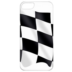 Flag Chess Corse Race Auto Road Apple Iphone 5 Classic Hardshell Case
