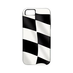 Flag Chess Corse Race Auto Road Apple Iphone 5 Classic Hardshell Case (pc+silicone)