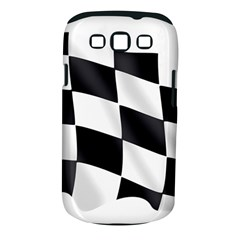 Flag Chess Corse Race Auto Road Samsung Galaxy S Iii Classic Hardshell Case (pc+silicone)
