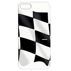 Flag Chess Corse Race Auto Road Apple Iphone 5 Hardshell Case With Stand