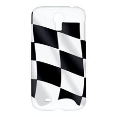 Flag Chess Corse Race Auto Road Samsung Galaxy S4 I9500/I9505 Hardshell Case
