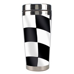 Flag Chess Corse Race Auto Road Stainless Steel Travel Tumblers