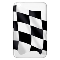 Flag Chess Corse Race Auto Road Samsung Galaxy Tab 3 (8 ) T3100 Hardshell Case